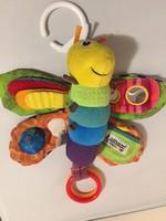 Érzékelés-fejlesztős gyerekjáték, színes méhecske