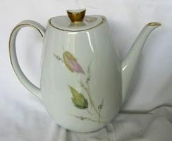 Bavaria porcelán teás, kávés kanna, jelzett 19,5  cm magas.