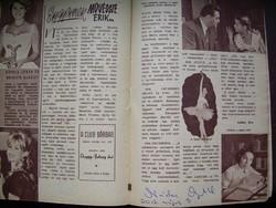 Dedikált! Film Színház Muzsika Nádasy Myrtill autogrammal /későbbi/