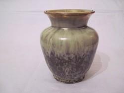 Kerámia váza Bay Keramik 15cm aranyozott perem retro