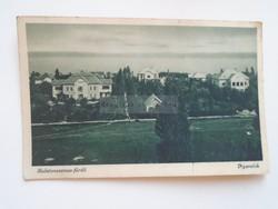 G21.321   Régi képeslap  Balaton  Balatonszemes   - Nyaralók  1930-40's