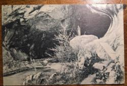 Petrozsény Boli csepkő-barlang  1911