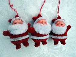 Retro  karácsonyfa dísz mikulások
