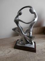Art deco táncos pár szobor