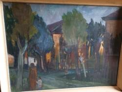 Painting by József Szanosváry