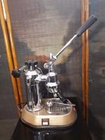 Antik Olasz Pavoni Kávégép 1950-1960