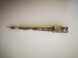 Antik orosz ezüst judaika toramutató
