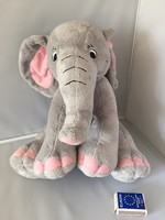 Nagy méretű, mosható elefánt, jelzett