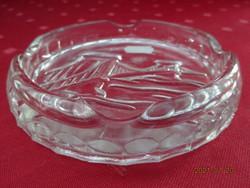 Üveg hamutál, Lánchíd nyomattal a közepén, átmérője 12 cm. Vanneki!