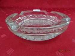 Üveg hamutál, átmérője 12 cm, magassága 3 cm. Vanneki!