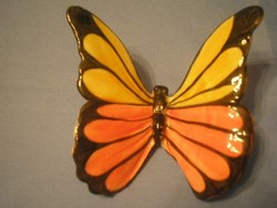 N2 Ritkaság Gmundnem egyedi porc pillangó ritkaság 9 x 7cm csodás színekkel jelzett