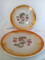 Zsolnay porcelán kistányér