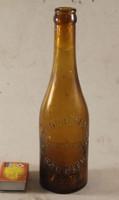 Antik 2,5 literes ritka sörös üveg 974