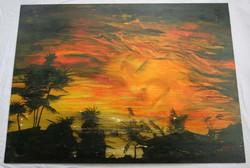 Robert Ottiger Álom című festménye (igen nagy méretű)