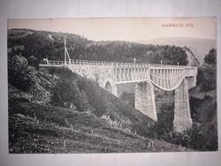 Erdély, Gyimes, Csíkgyimes - Karakói viadukt (még eredeti állapotában).