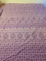 Levendula színű pamut paplanhuzat, ágynemű