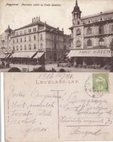 Románia Nagyvárad Pannonia szálló és Emke kávéház 1916 RK MET