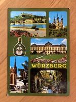 Würzburg képeslap