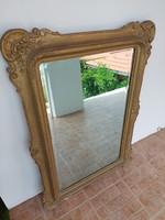 Korabeli biedermeier tükör 119 x 83 cm