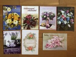 Virágos képeslapok - Születésnapi Üdvözlet   - ár / db