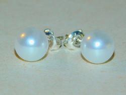 Törtfehér Shell Pearl Gyöngy Fülbevaló