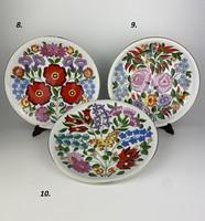 Kalocsai porcelán falitányér 2.