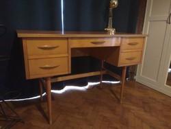 Retro mid century modern fiókos íróasztal