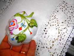 Herend sugar cup with handles - bowl / bottom with convex decoration