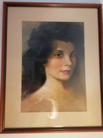 Fassel Lousa Ferenc : Portré
