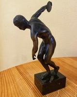 EGY FORINTRÓL - bronz diszkoszvető