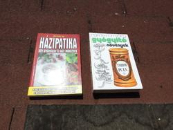 Gyógyító növények _ Házipatika Népi gyógyászat és házi módszerek ( Kettő könyv egyben )