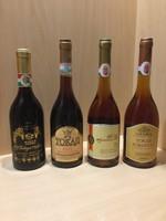 Tokaji borkülönlegességek ( muzeális )