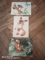 Három Vuk képeslap
