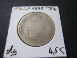 1 Forint 1880 KB