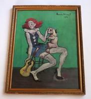 Anna Margit festmény. Az alkotás éve: 1986