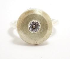Köves ezüst gyűrű (ZAL-Ag96724)