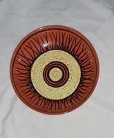 Retro fali tányér,Király Gáspár