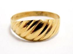 Kő nélküli vésett arany gyűrű (ZAL-Au99025)