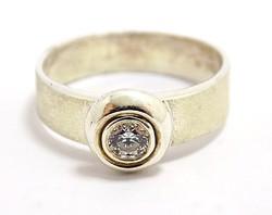 Köves ezüst gyűrű (ZAL-Ag96669)