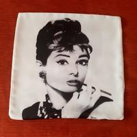 Retró! Audrey Hepburn diszpárna huzat