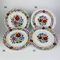 Kalocsai porcelán falitányér 4.