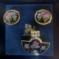 Eredeti Frey Wille medál és klippes fülbevaló Freywille ékszerek