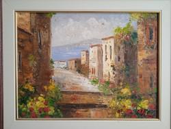 Molnár Adél Mediterrán táj