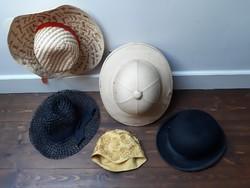 Régi vintage és retro kalapok sapkák 1.700.-Ft/db