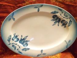 Régi porcelán sültes tál
