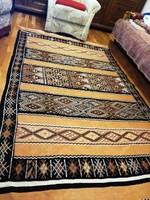 Különlegesen szép, ber-ber kilim szőnyeg ! 146 x 240 cm