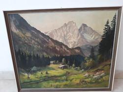 EREDETI  szignózott festmény 1957-ből