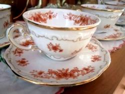 Zsolnay teás csésze készlet