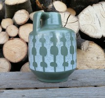 Kicsi kerámia váza, Strehla, Made  in GDR