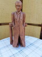 Czinege edit terrakotta szobor 43 cm